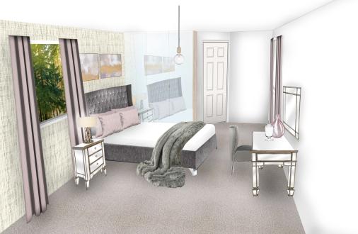 Master bedroom Visual